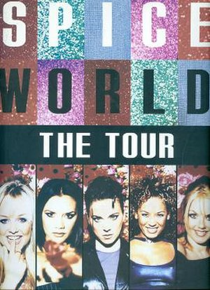 Spiceworld Tour - Image: Spice World Tour Book