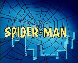 <i>Spider-Man</i> (1967 TV series) US late 1960s animated television series