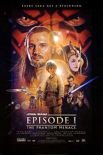<i>Star Wars: Episode I – The Phantom Menace</i> 1999 American epic space opera film directed by George Lucas