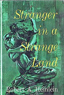 <i>Stranger in a Strange Land</i> novel by Robert A. Heinlein