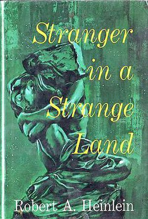 Stranger in a Strange Land - Hardcover, showing Rodin's sculpture,  Fallen Caryatid Carrying her Stone