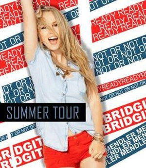 Summer Tour (Bridgit Mendler) - Image: Summer Tour by Bridgit Mendler