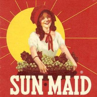 Sun-Maid - Image: Sun Maid brand logo 1956