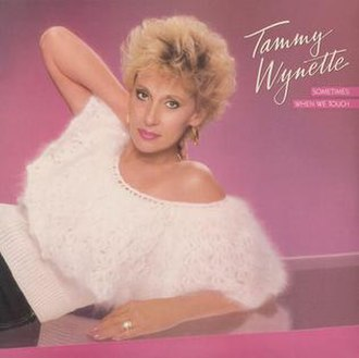 Sometimes When We Touch (album) - Image: Tammy Wynette Sometimes When We Touch