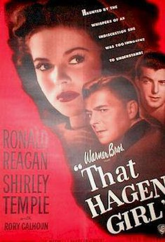 That Hagen Girl - Theatrical poster