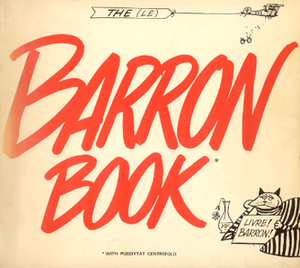 "Sid Barron - Cover of ""The Barron Book"" showing biplane and ""puddy tat"""