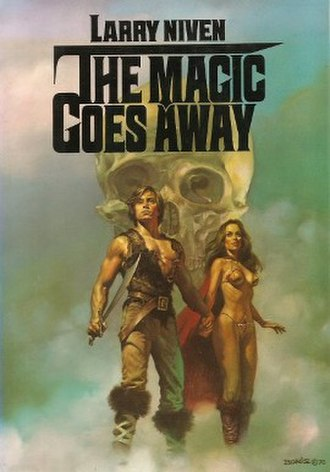 The Magic Goes Away - Cover for the illustrated edition.  Art by Boris Vallejo