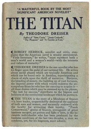 The Titan (novel) - First edition