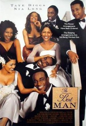 The Best Man (1999 film) - Theatrical release poster