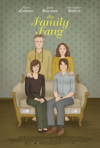 The Family Fang (film) - Theatrical release poster
