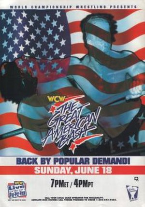 The Great American Bash (1995) - Promotional poster