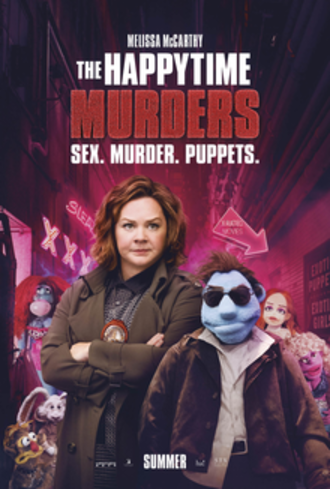 The Happytime Murders - Theatrical release poster