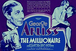 The Millionaire (1931 film) - Theatrical Poster