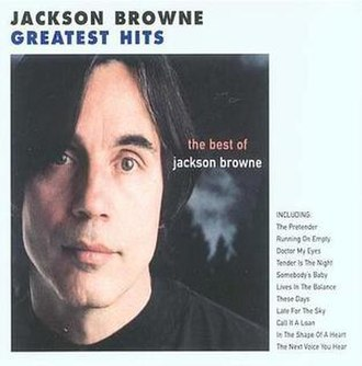 The Next Voice You Hear: The Best of Jackson Browne - Image: The Next Voice You Hear
