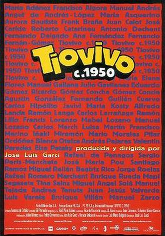 Tiovivo c. 1950 - Theatrical release poster
