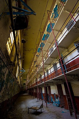 Tennessee State Prison - Image: Tn state cell block