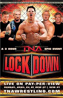 Lockdown (2005) 2005 Total Nonstop Action Wrestling pay-per-view event