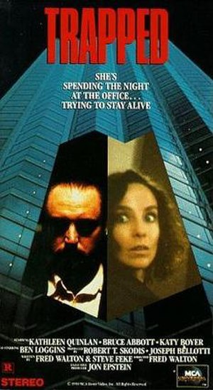Trapped (1989 film) - Image: Trapped Movie 1989