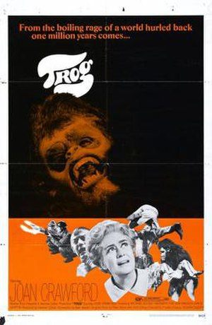Trog - Original theatrical release poster