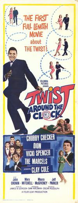 Twist Around the Clock - Theatrical Poster