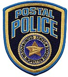 Patch of the U.S. Postal Inspection Service - Postal Police Uniformed Division