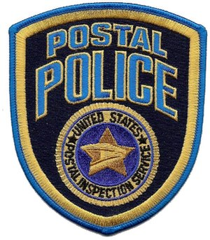 United States Postal Inspection Service - Image: USPIS Patch