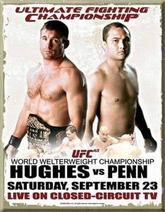 UFC 63 - Image: Ufc 63poster new