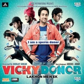Vicky Donor - Image: Vicky Donor 2012