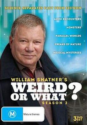 Weird or What? - Season 2 DVD cover