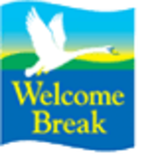 Welcome Break - Welcome Break logo until September 2006.