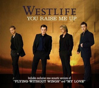You Raise Me Up - Image: Westlife You Raise Me Up (single cover)