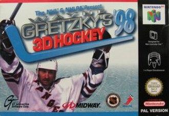 Wayne Gretzky's 3D Hockey '98 - Wayne Gretzky's 3D Hockey '98 box art.