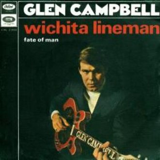 Wichita Lineman - Image: Wichitalinemansingle