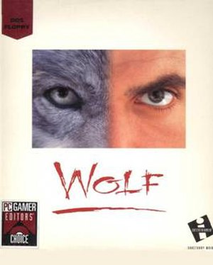 Wolf (video game) - Wolf cover art (edited version)