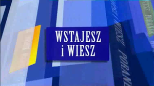 Poranek TVN24 - New graphic which debuted on air on 24 January 2009