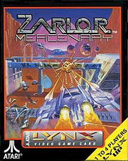 box shot of Zarlor Mercenary, Atari Lynx