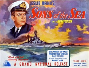 Sons of the Sea (film) - British trade ad