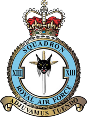 No. 13 Squadron RAF - 13 Squadron badge