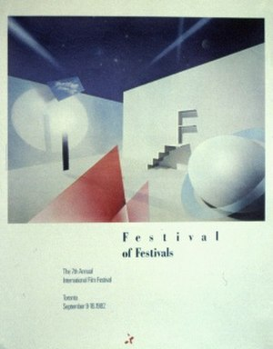 1982 Toronto International Film Festival - Festival poster