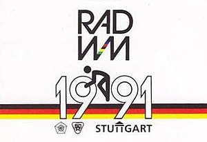1991 UCI Road World Championships - Image: 1991 UCI Road World Championships logo