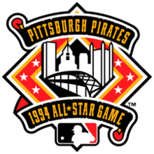 1994 Major League Baseball All-Star Game logo.png