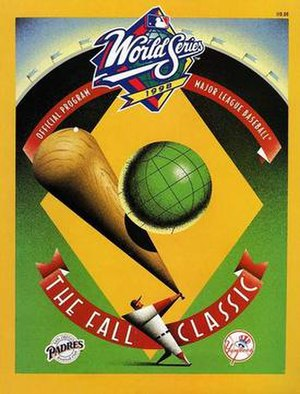1998 World Series - Image: 1998 World Series Program