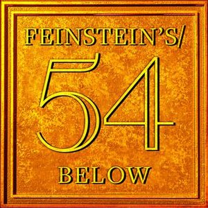 Feinstein's/54 Below - The Feinstein's/54 Below etched sign featured on the wall behind the stage.