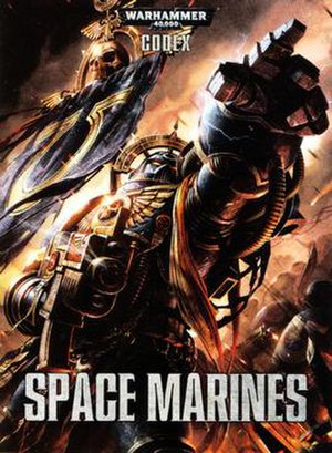 Codex (Warhammer 40,000) - Image: 6th Ed Space Marine Codex