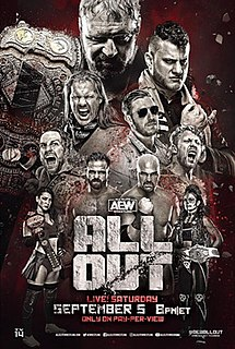 All Out (2020) 2020 All Elite Wrestling event