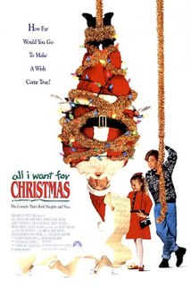 <i>All I Want for Christmas</i> (film) 1991 film by Robert Lieberman