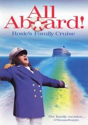 All Aboard! Rosie's Family Cruise - Image: All Aboard! Rosie's Family Cruise DVD cover