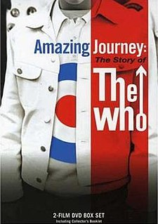 <i>Amazing Journey: The Story of The Who</i> 2007 film by Paul Crowder, Murray Lerner