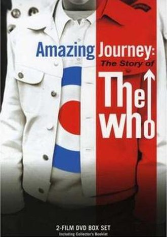 Amazing Journey: The Story of The Who - Cover to the DVD release