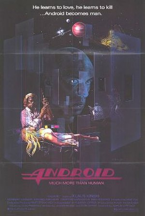 Android (film) - Theatrical release poster